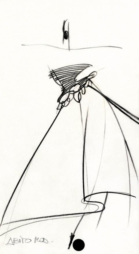 fondazione gianfranco ferr u00e9    collezioni    donna    alta moda    1987    autunno    inverno